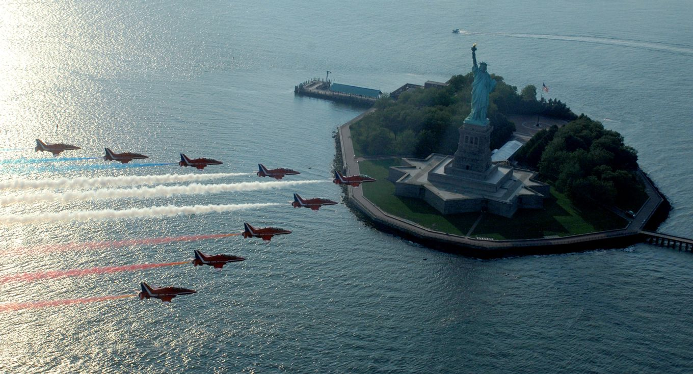 Red Arrows to tour America