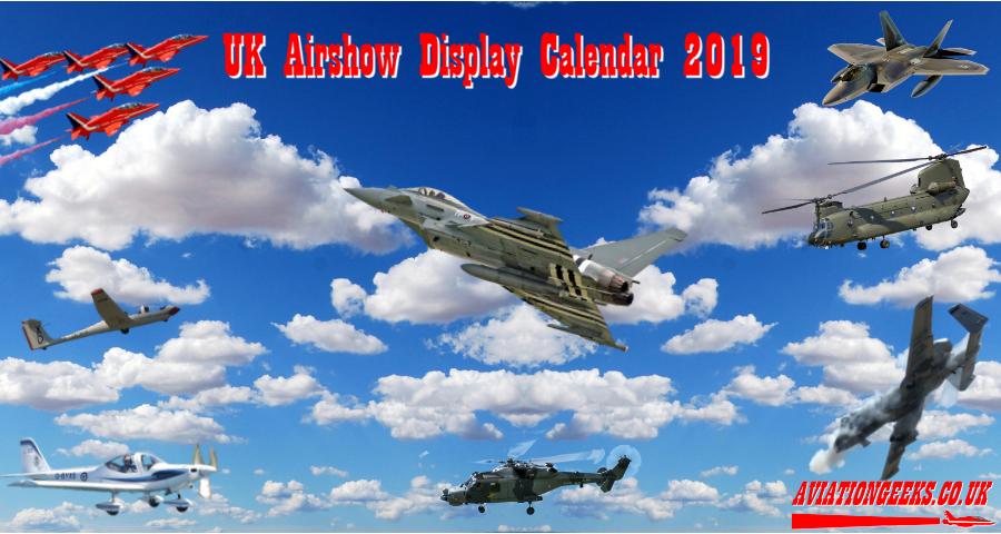 air show Calendar 2019