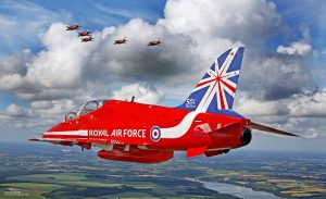Red Arrows Kings of the Sky