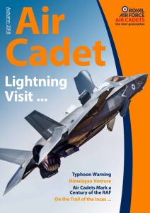 Air Cadet Magazine Autumn 2018