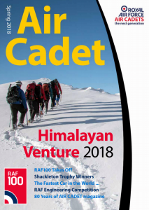 Air Cadet Magazine Spring 2018