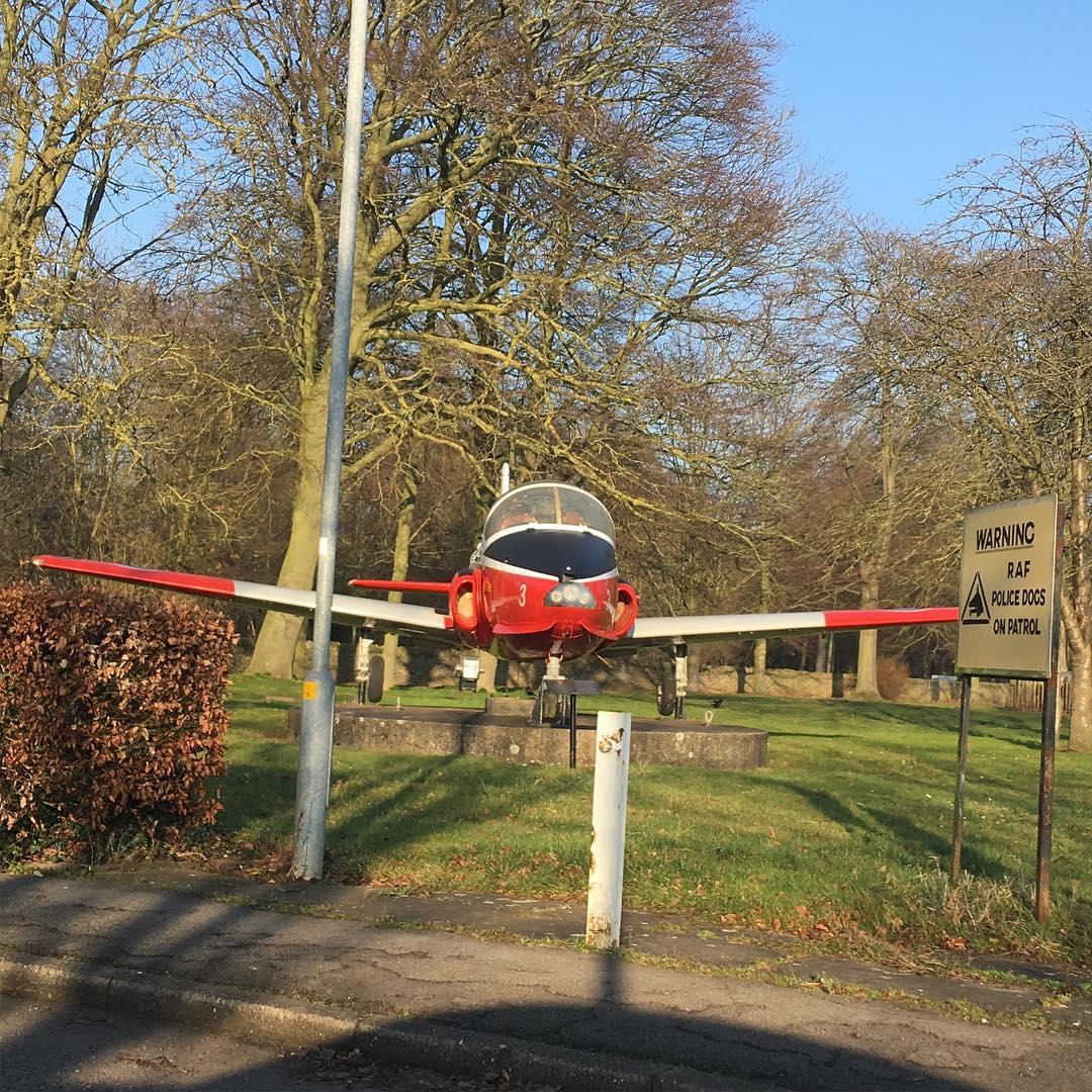 Jet Provost Gate Guardian RAFC Cranwell