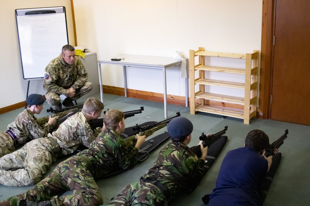 Air Rifle Weapons Instruction